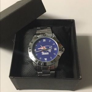 🔴 New England Patriots Watch With Box